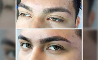men's eyebrow tint