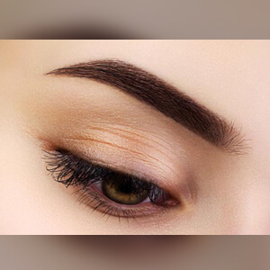 permanent eyebrow tint