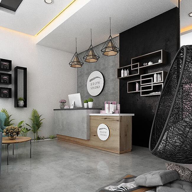 Top henna brow salons world Brow Studio