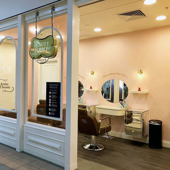 Top henna brow salons world The Beauty and Brow Parlour