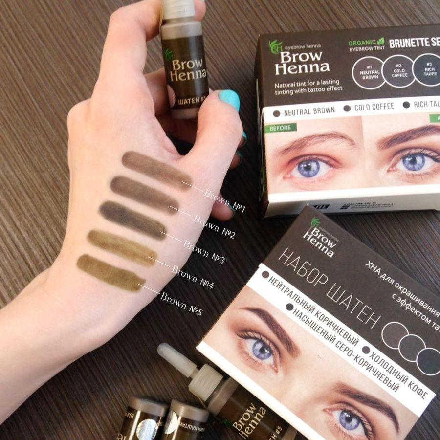henna brow kits harmful ingredients